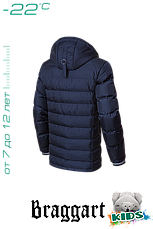 Теплая детская куртка Braggart Kids в Украине арт. 6529, фото 3