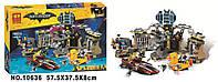 Конструктор Bela 10636 Нападение на Бэтпещеру (Аналог THE LEGO BATMAN MOVIE 70909)