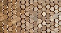Декоративная панель из дерева Mosaic Honey