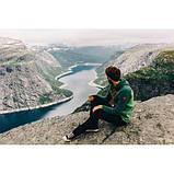 Флис Turbat Kosmach (зеленый/красный), фото 6