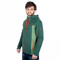 Флис Turbat Kosmach (зеленый/красный) XL