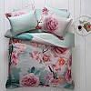 Комплект постільної білизни Tivolyo Home Rose Dream сатин 220-200 см різнобарвний