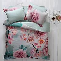 Комплект постільної білизни Tivolyo Home Rose Dream сатин 220-200 см різнобарвний, фото 1