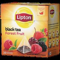 (21126002)Lipton чай 20 пакетов пирамида Forest Fruit