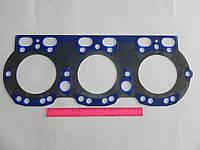 Прокладка ГБЦ (стальная) ЯМЗ 236Д-1003212-А (синяя)