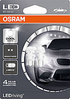 Авто лампа габаритная  LED W5W 1W 12V 6000K Osram 2850CW-02B-Германия