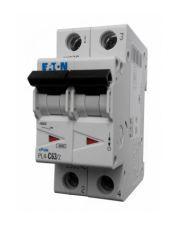 Автомат выключатель Eaton 2 полюса 6А PL4 C