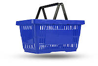 Корзина пластиковая покупательская