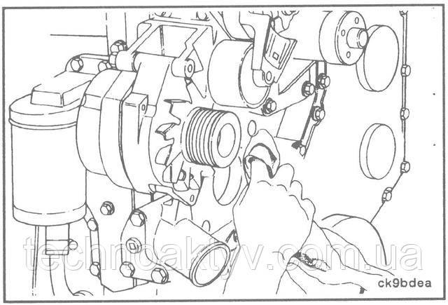 Система охлаждения двигателя камаз камминз
