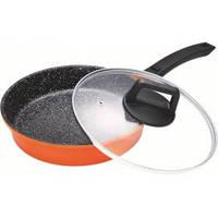 Сковородка мраморно-гранитная BS 7424 диаметр 24 см