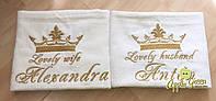Красивейшее полотенце с вышивкой