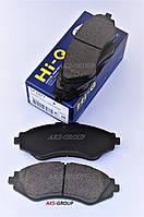 Передние тормозные колодки Lanos, Nubira, Leganza Hi-Q SP 1077