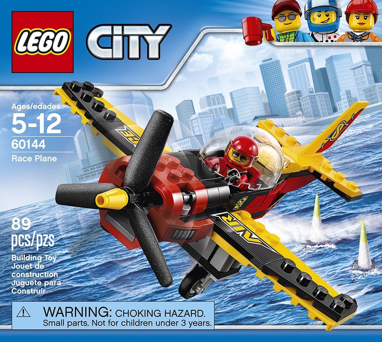 Lego City Гоночный самолёт 60144