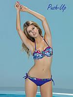 Синий раздельный купальник - бандо Marc & Andre Bikini L1510-952, фото 1