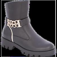 Ботинки 5517-1565 черные Arial для девочек размеры 31-38