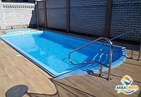 Установка и монтаж стекловолоконного бассейна под ключ