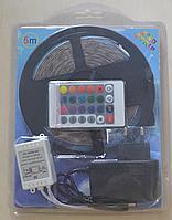 LED лента 5 метров с пультом и блоком питания