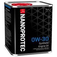 Синтетическое моторное масло NANOPROTEC Engine Oil 0W-30   1л