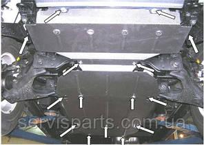 Захист двигуна Kia Sorento 2002-2009 (Кіа Соренто), фото 2