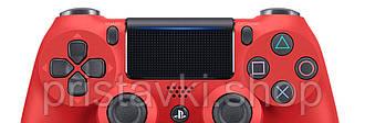 Джойстик Playstation 4 красный v2