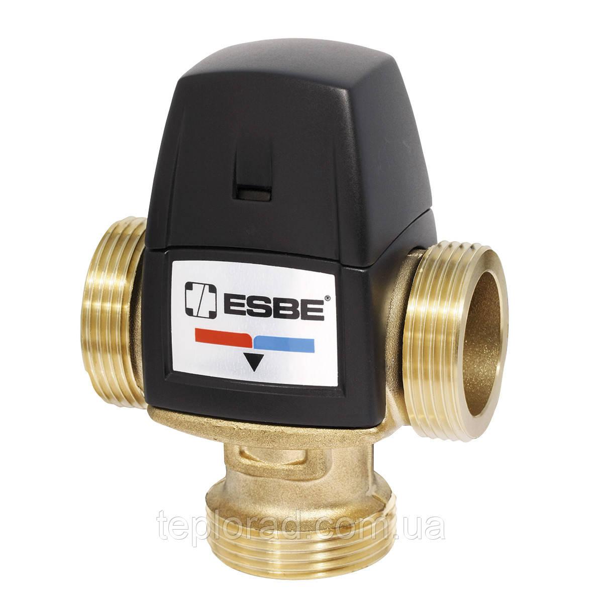 Термостатический смесительный клапан ESBE VTA552 G 1 1/4 DN25 50-75 C kvs 3.5