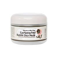 Маска для глубокого очищения пор  Elizavecca Milky Piggy Carbonated Bubble Clay Mask