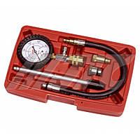 Компрессометр бензиновый со сменными адаптерами 1621A JTC