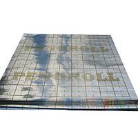 Металлизированная пленка с разметкой PENOROLL 100 мКр (ламинированный, рулон 50 метров)