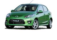 Mazda 2 07-10 кузов и оптика