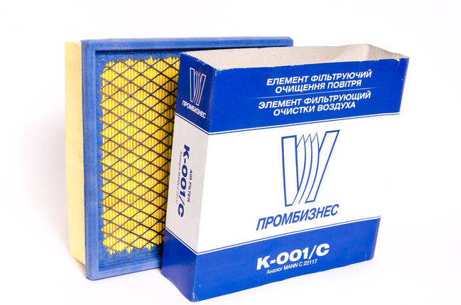 Фільтр повітряний ПРОМБИЗНЕС K-001/C, фото 2
