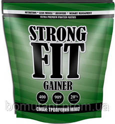 Gainer 20% 40 гр тропічний мікс Strong FIT