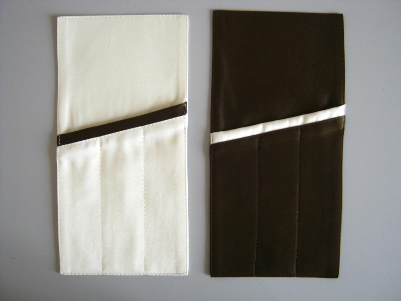 Куверт (конверт)  на 3 прибора , ткань Ричард  гладь.