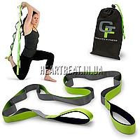 Ремень для растяжки Gravity Fitness Stretch Strap (12 петель)