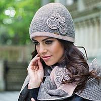 Silvia зимняя женская шапка, полушерстяная, розовый цвет