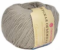 Нитки  для ручного вязания, пряжа, Детская Объемная Жемчуг (микрофибра)