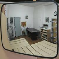 Сферическое прямоугольное зеркало 600 х 800 мм