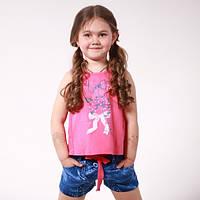 Комплект одежды для девочки летний (майка и шорты)