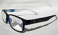 Стильные очки для зрения 8316 (рмц 62) (вставка Изюмское стекло)