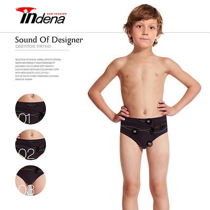 Подростковые стрейчевые плавки  на мальчика Марка  «INDENA»  Арт.70502, фото 2