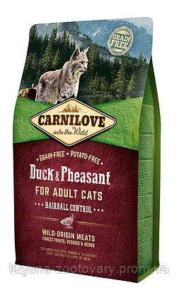 Carnilove Cat 6 kg Duck & Turkey Large Breed (д/ крупных пород), фото 2