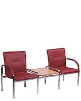 Кресло для зоны ожидания округлое STAFF-2(S) T (Nowy Styl)