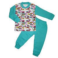 Пижама для девочки трикотаж 1-4р.(110-128) мінні маус