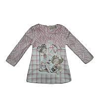 Платье для девочек  трикотаж 1-4года (86-104) арт.3689