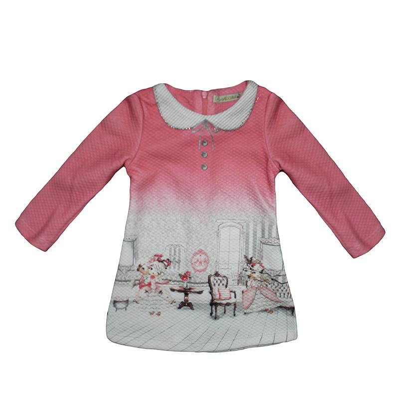 Платье для девочек трикотаж 1-4года (86-104) арт.3693