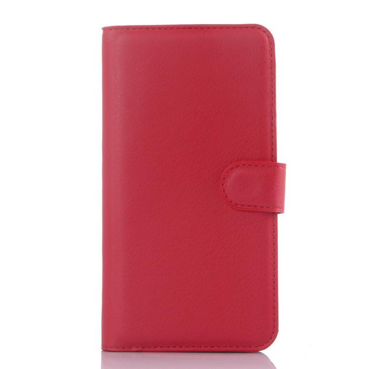 Чехол-книжка Bookmark для Xiaomi Redmi Note 2 red