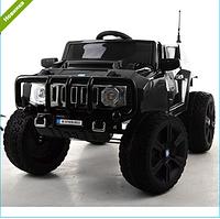 Детский электромобиль Джип Hummer M 3570 EBLRS-2 черный автопопокраска  ***