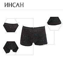 Подростковые стрейчевые шорты на мальчика Марка «ИНСАН»   Арт.INS-656, фото 3