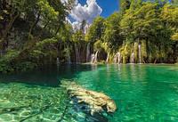 Фотообои бумажные на стену 368х254 см 8 листов: Райский водопад. Komar 8-533
