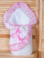 """Конверт-одеяло """"Луиза"""" с подушкой (зима)"""