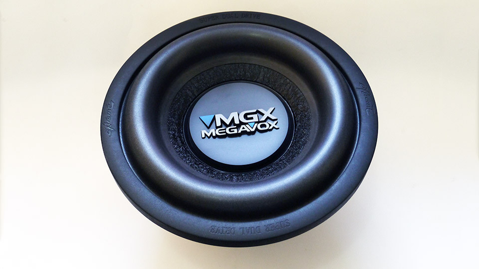 Сабвуфер 10 Megavox MX-W10B 600W
